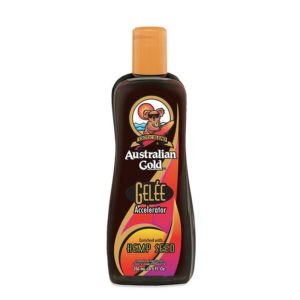 Gelee with hemp Australian gold tanning lotion accelerator intensifier cyrano ltd