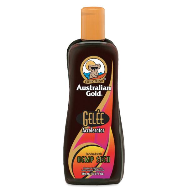 australian gold gelee with hemp intensifier tanning lotion