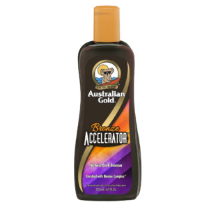 Australian Gold Bronze Accelerator bronzer tanning lotion