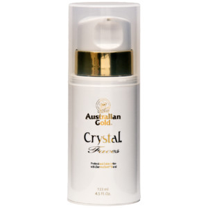 Australian Gold crystal faces facial tanning intensifier lotion