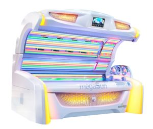 Cyrano exclusive rainbow bed and sunbed lamps