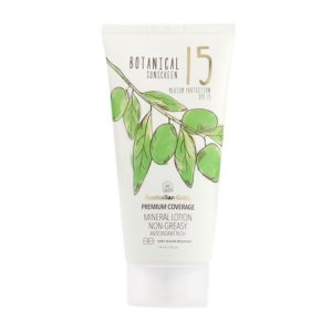 SPF 15 MINERAL LOTION BOTANICAL SUN SCREEN SUNSCREEN SUN CREAM
