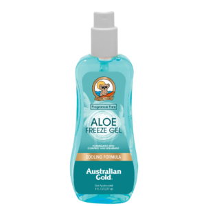 australian gold aloe freeze spray gel aftersun