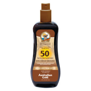 SPF 50 Spray Gel Bronzer