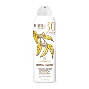 botanical spf 30 continuous spray sunscreen sun cream