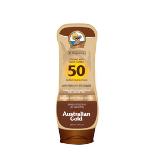 australian gold spf 50 lotion with bronzer