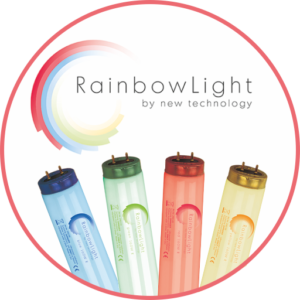 rainbow light sunbed lamps uv power