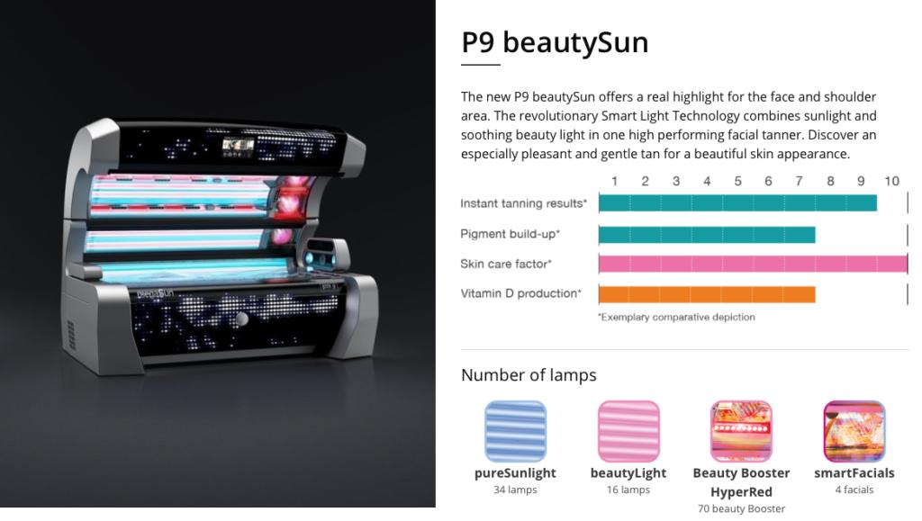 megasun p9 beautysun