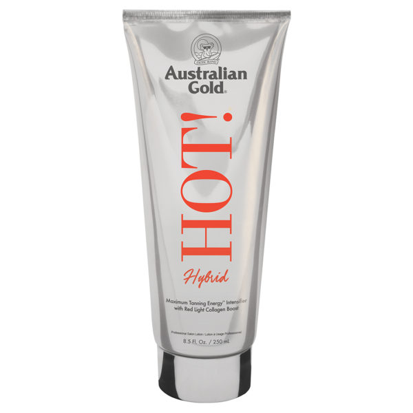 new for 2020 hot hybrid Australian gold cyrano tanning lotion red light therapy