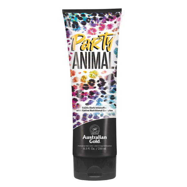 new for 2020 Australian gold party animal intensifier tanning lotion