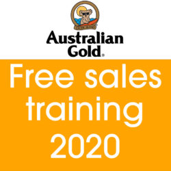 Cyrano Australian gold 2020 sales training free tanning lotion