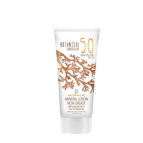 Australian gold spa 50 mineral lotion botanical
