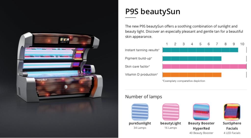 megasun p9s beautysun sunbed