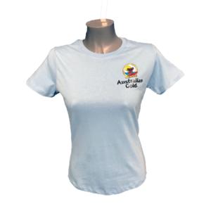 Australian gold branded t-shirt