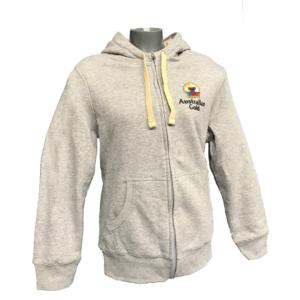 Australian gold sherpa hoody