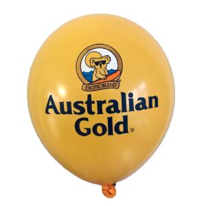 Australian gold balloons