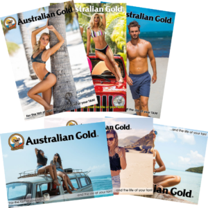 Australian gold posters