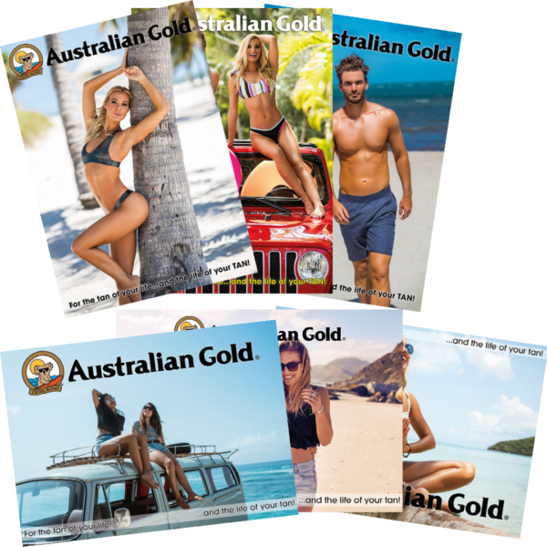 Australian gold posters