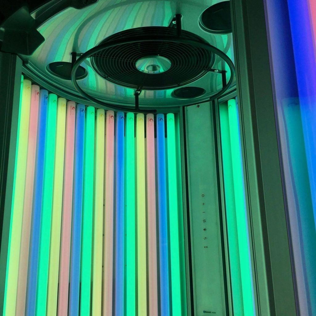 sunbed lamps rainbow tanning