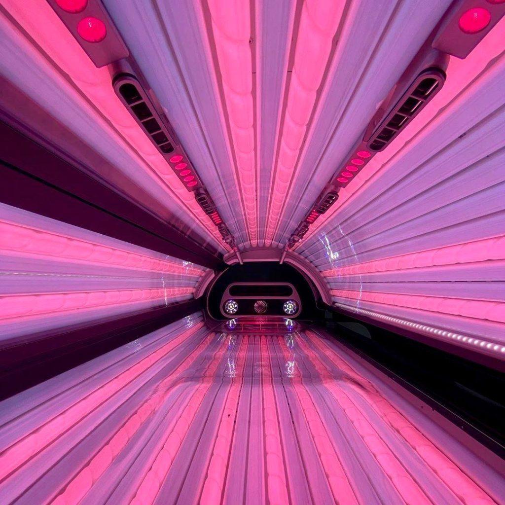 sunbed lamps hybrid tanning