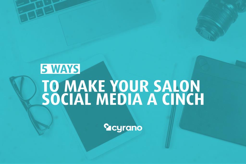 salon social media tips