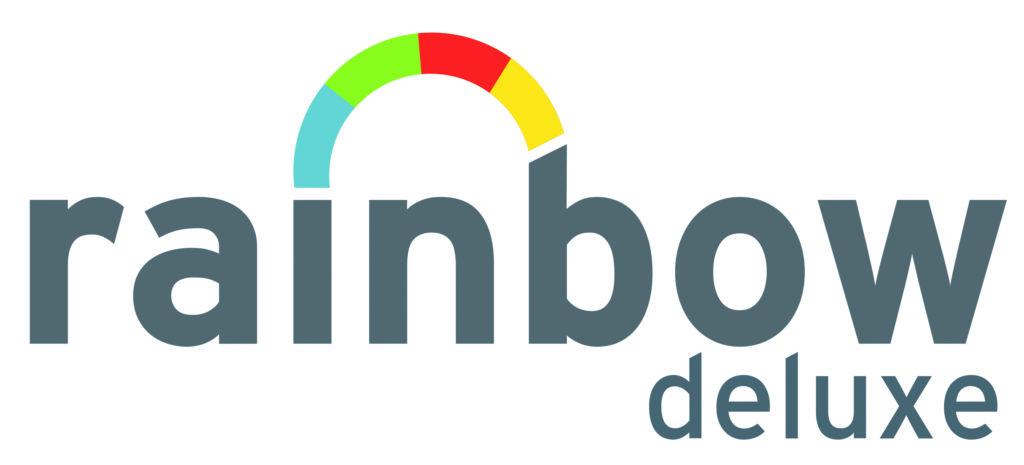 rainbow tanning logo